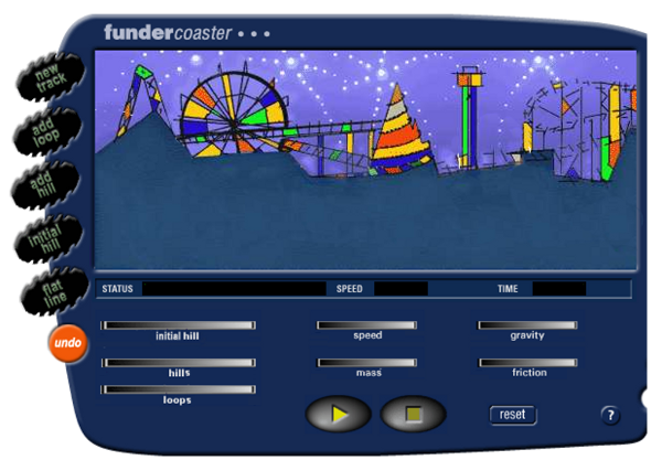 Roller Coaster Game | Fun Learning | Simulation