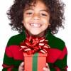 Kid-holding-present
