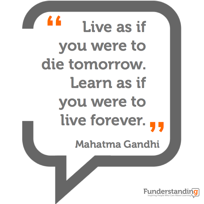 Live as if you were t