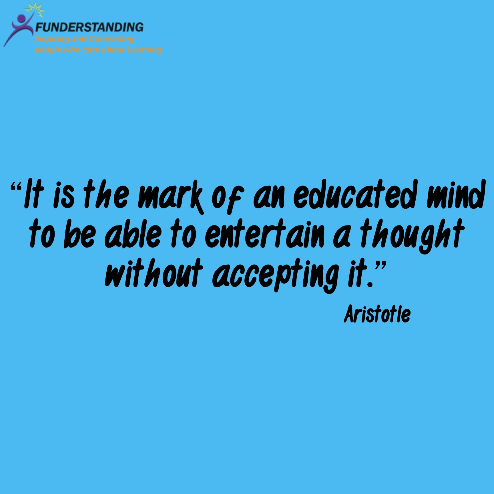 Thought For The Day Quotes Quoteoftheday42Funderstanding  Funderstanding Education